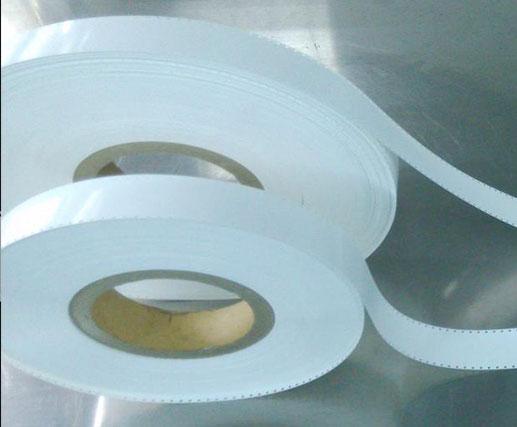 White PET leader tape