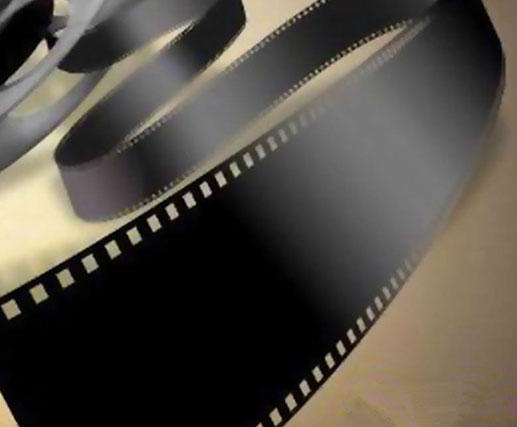 Black PET leader tape